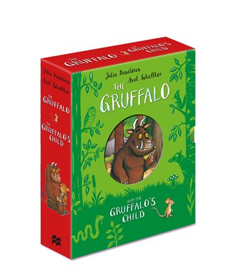 Book cover for The Gruffalo and The Gruffalo's Child...